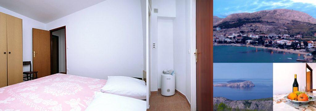 Pokój dla dwóch osób z łazienką, klimatyzacją i internetem.