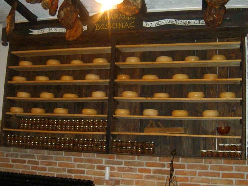 Wytwórnia serów w Kolan i w Pagu